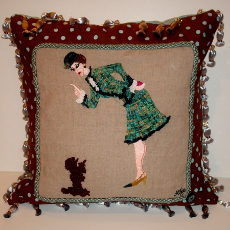 Audrey's Coco pillow
