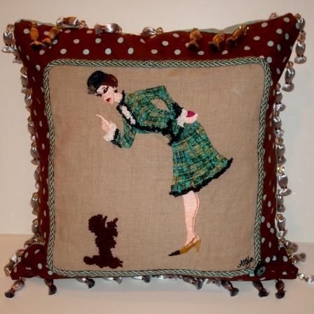 Audrey's Coco pillow